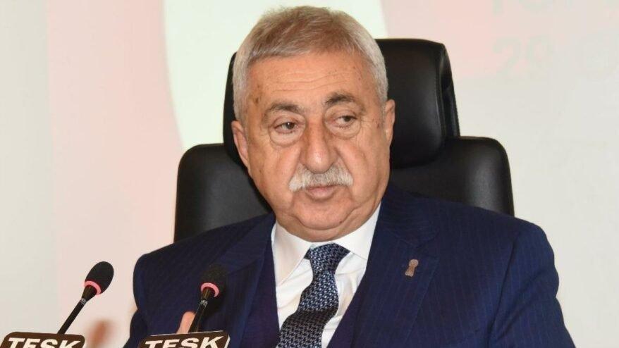 TESK Başkanı Palandöken: Yapılandırma başvuru süresi yıl sonuna kadar uzatılmalı