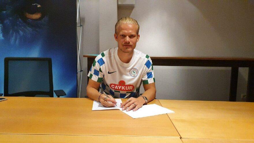 Çaykur Rizespor, forvet Pohjanpalo ile anlaştı