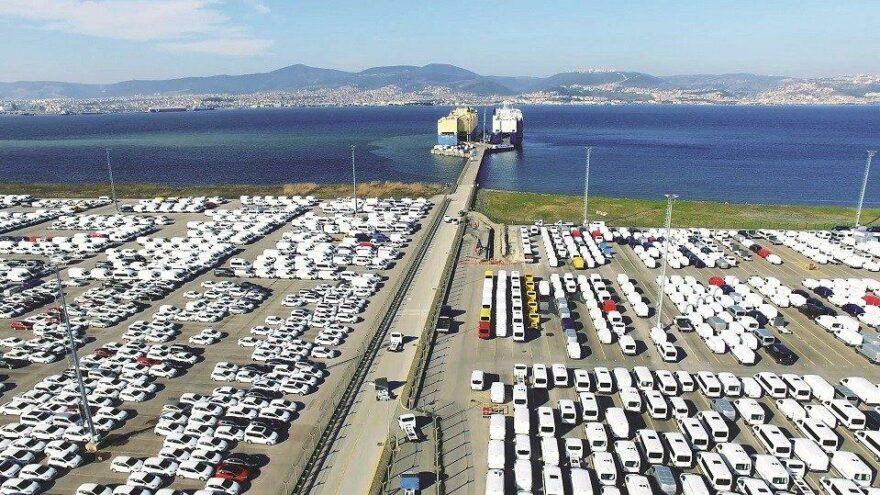 Otomotiv ihracatı ağustosta 2,4 milyar dolar oldu