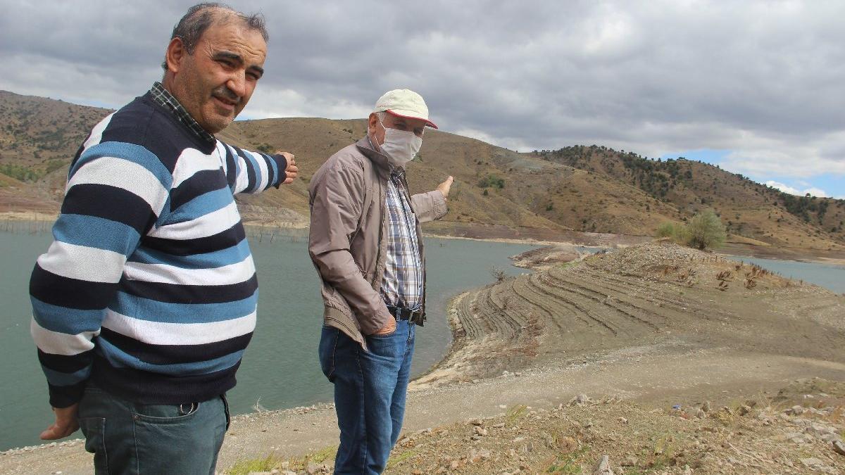 Sivas'tan ürküten kuraklık manzarası
