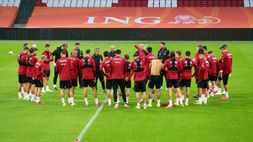 Türkiye A Milli Futbol Takımı Hollanda maçına hazır
