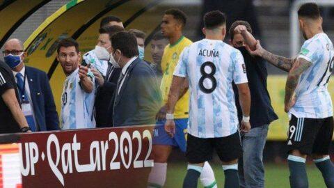 Olaylı Brezilya Arjantin maçı için ortalık ayağa kalktı! 'Brezilya için kara bir leke'