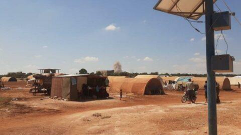 Rus savaş uçakları mülteci kampını hedef aldı: 5 yaralı