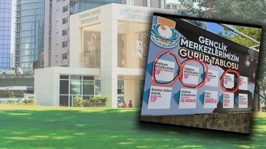 AKP'li belediye 'sehven yapıldı' diyerek afişleri değiştirdi