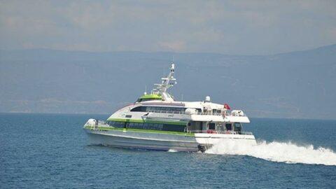 Bursa Deniz Otobüsleri'nin bazı seferleri iptal edildi