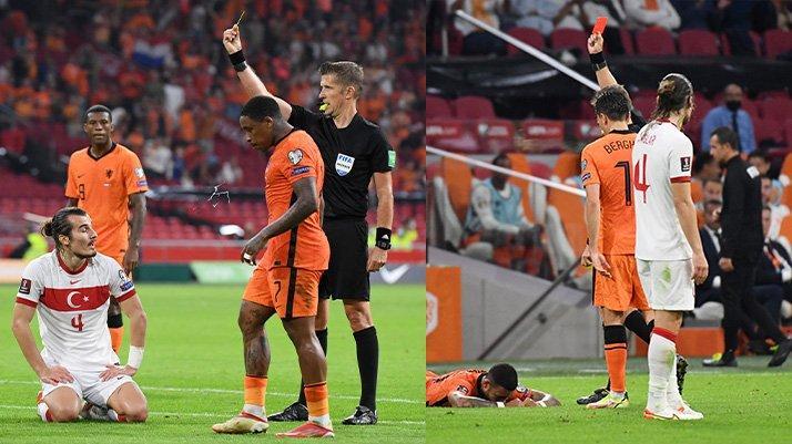 Çağlar Söyüncü Hollanda maçının ardından özür diledi