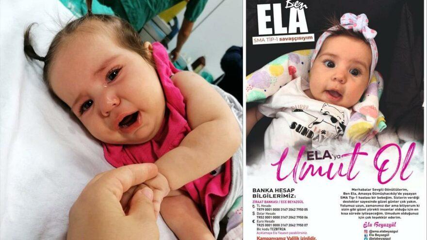 SMA hastası Ela'nın 11 ayı kaldı