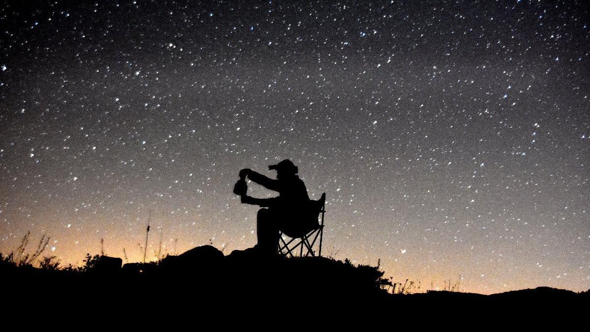 Yıldızları fotoğraflamak için Nemrut'ta kamp kurdular