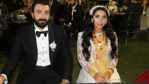 Yeni evli çifte 2 milyon lira ve 4 kilo altın takıldı