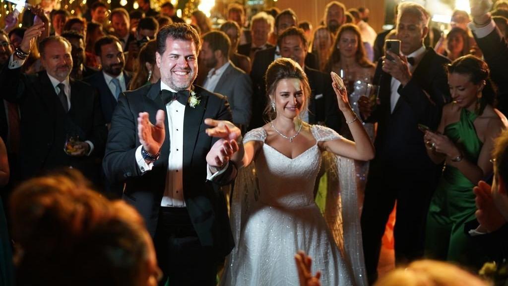 Özel uçaklarla gelip Bodrum'da 3 gün 3 gece düğün yaptılar