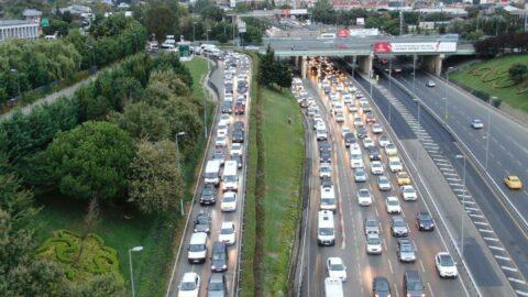 Servis araçları yola çıktı, yoğunluk yüzde 60!