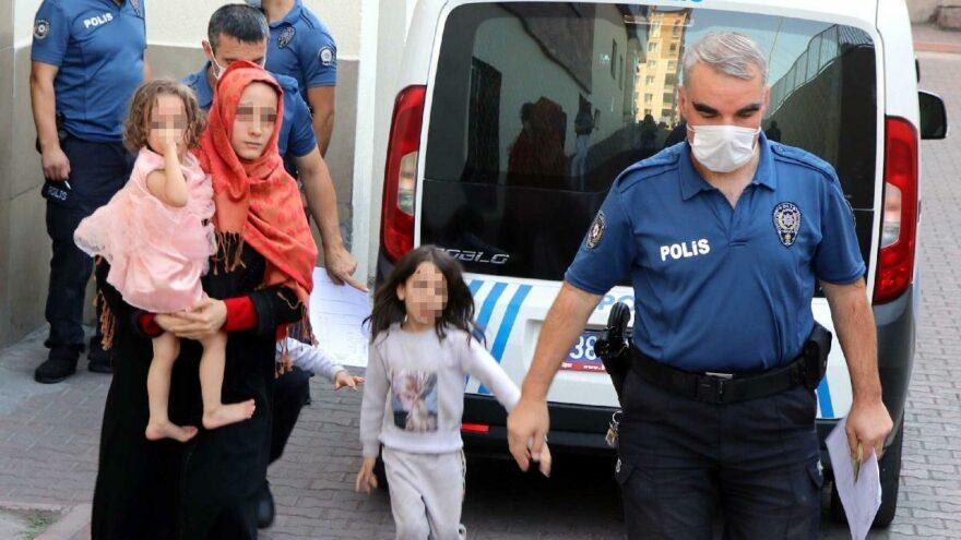 Eşi ve 3 çocuğunu rehin alıp evi yakmaya çalışan Suriyeli serbest bırakıldı