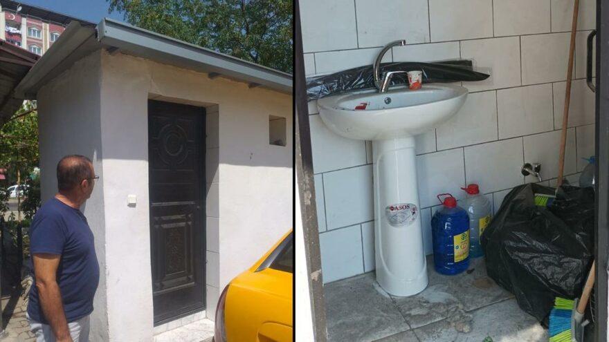 AKP'li belediyeden Aziz Nesin'lik tuvalet hizmeti