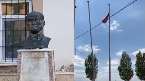 Skandal iddia: Milli Eğitim Müdürü bayrağımıza 'bez parçası' dedi