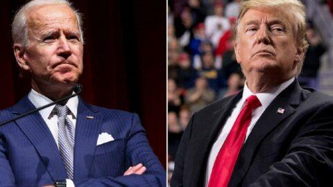 Trump, Biden'a yüklendi: Tüm dünyanın karşısında bizi utandırdı!
