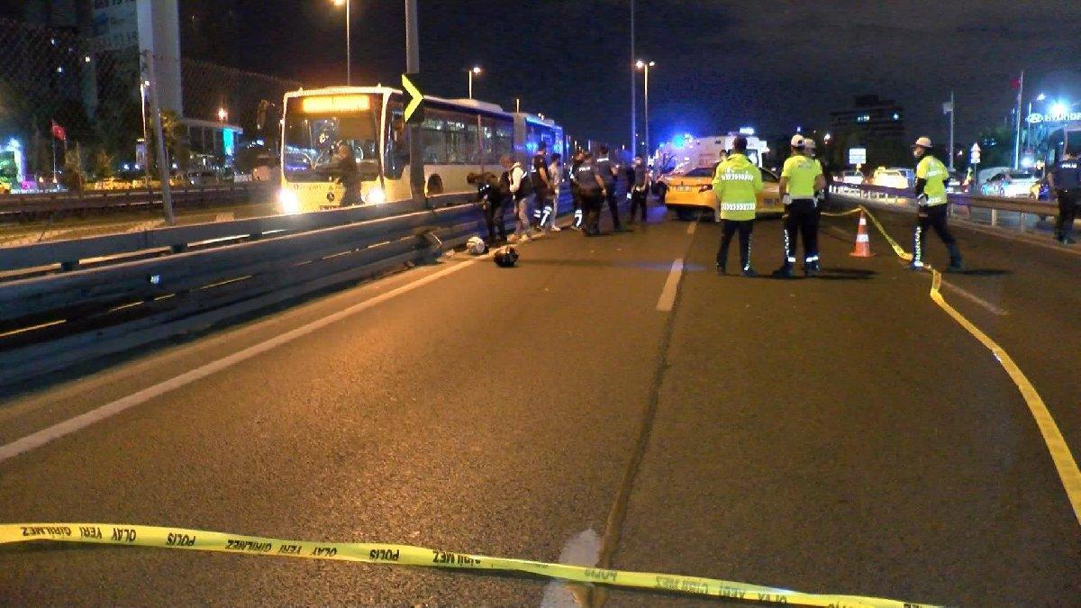 İstanbul'da feci motosiklet kazası: 2 ölü