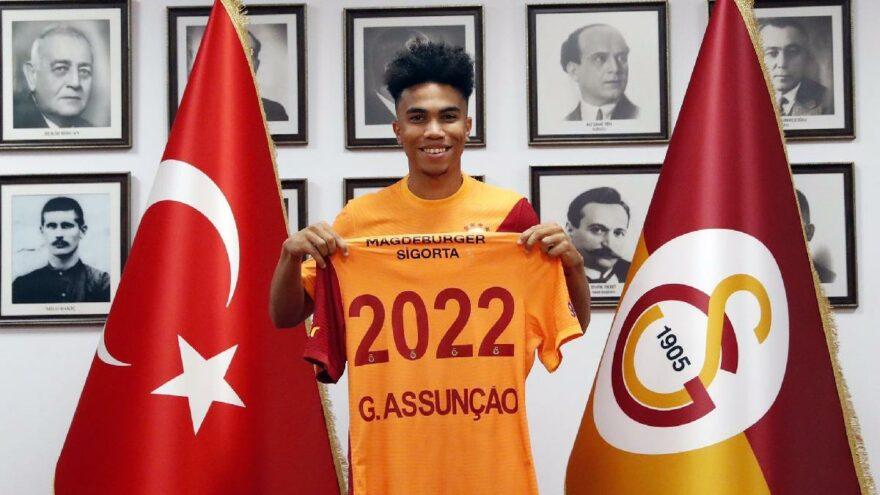 Galatasaray, Gustavo Assunçao'yu resmen açıkladı