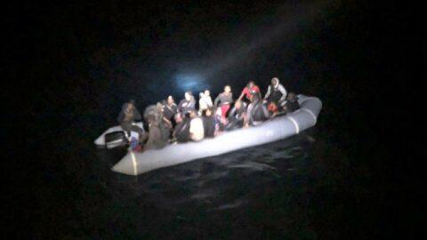 Muğla'da 32 düzensiz göçmen kurtarıldı
