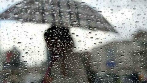 Önce rüzgar, sonra sağanak! İstanbul da listede...
