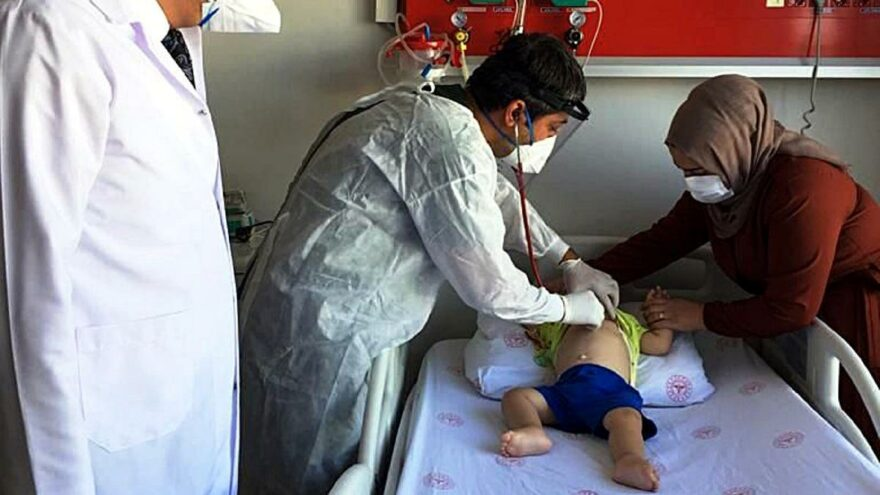 Diyarbakır'da korkutan rakamlar! 466 çocuk pozitif, 81'i yoğun bakımda!