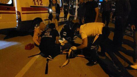 Kastamonu'da motosiklet ile otomobil çarpıştı: 1 yaralı