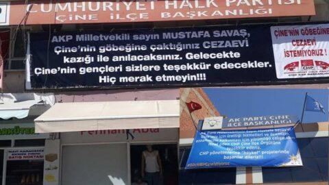 AKP ile CHP'nin pankart savaşı