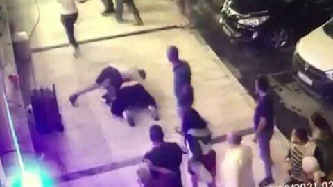 Dinlenme tesisinin sahibi ile oğlunu dövdüler