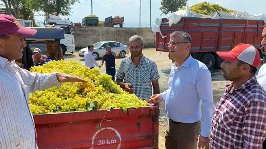 Üzüm üreticisinden Bakan Pakdemirli'ye isyan