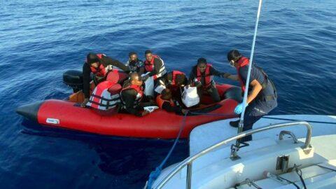 Bodrum açıklarında 26 göçmen kurtarıldı
