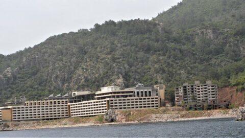 Marmaris'teki inşaata çevreciler tepkili