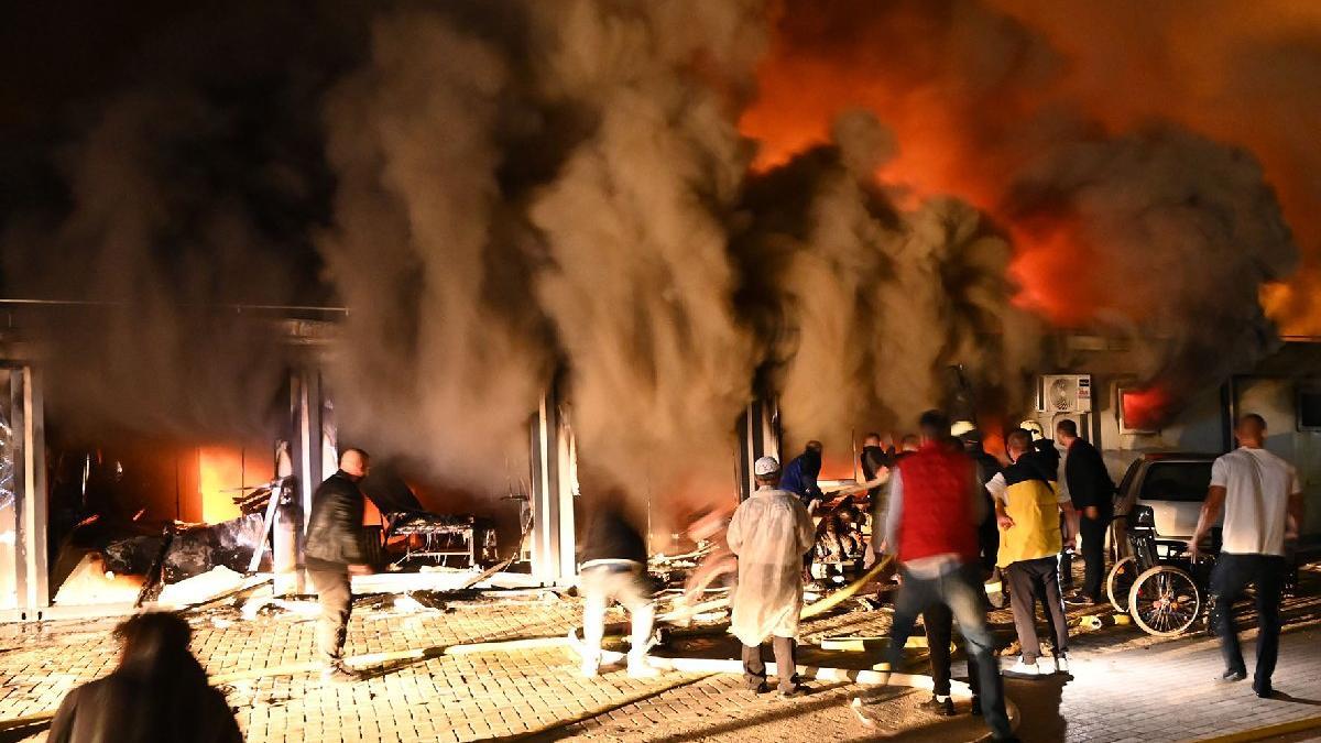 Kuzey Makedonya'da hastanede yangın: 10 ölü