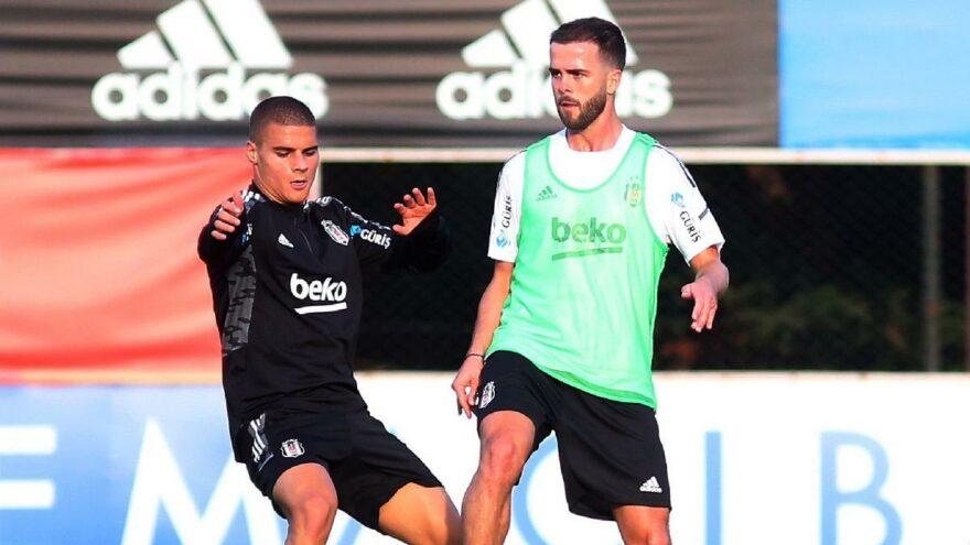 Beşiktaş'ta Pjanic ilk antrenmanına çıktı