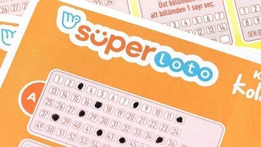 Süper Loto sonuçları: Büyük ikramiye sahibini arıyor