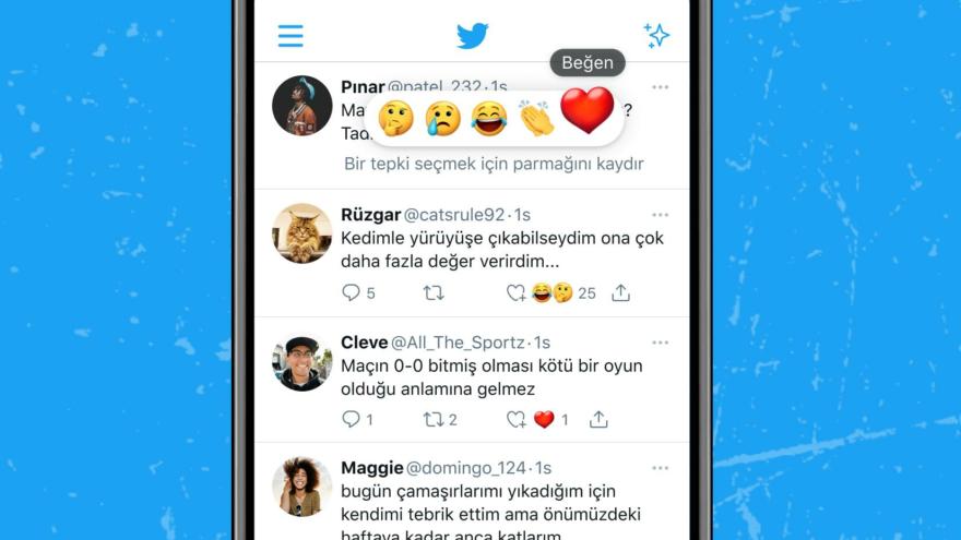 Twitter'dan Türkiye'deki kullanıcılara yeni özellik