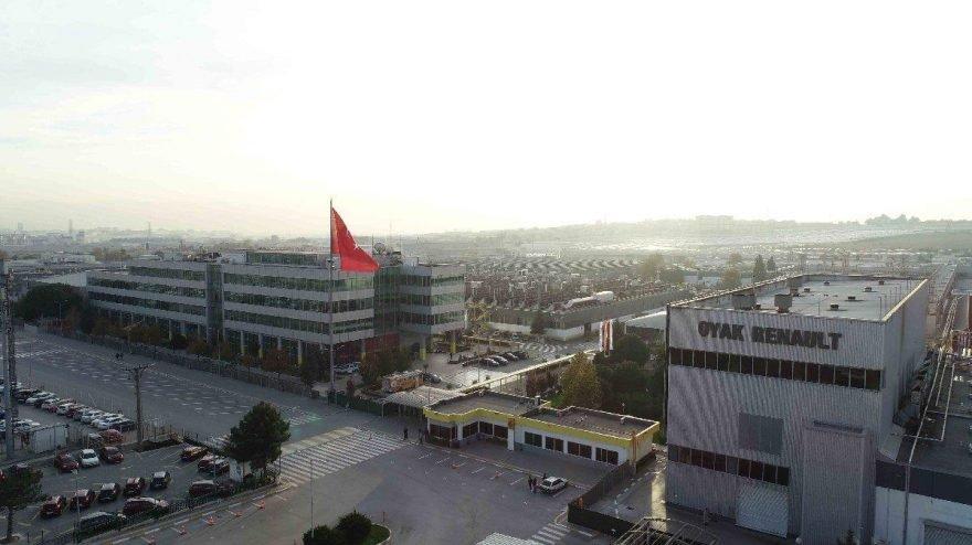 Bursa'daki Renault fabrikasında üretim 4 gün duracak