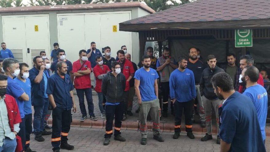 Konya'da sendikaya üye olan 140 işçi Kod 46 ile işten çıkartıldı