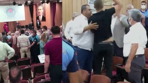 Belediye meclisinde kavga çıkaran sözler