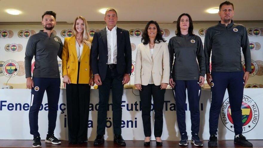 Fenerbahçe Kadın Futbol Takımı'nın imza töreni gerçekleştirildi