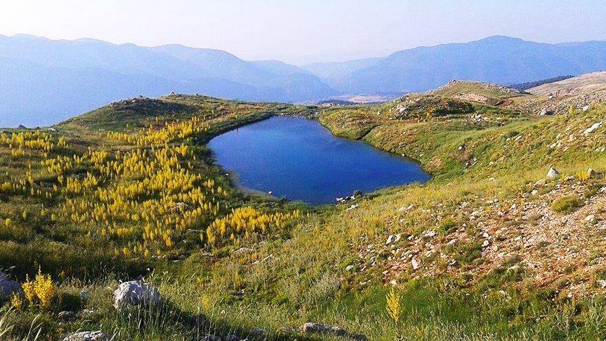 Kaş'taki Kartal Gölü can çekişiyor