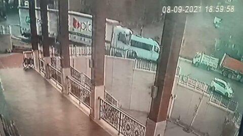 İstanbul'da TIR kazası! Korku dolu anlar kamerada