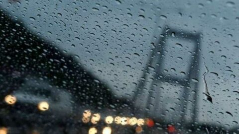 Sağanak yağış başladı, bir süre terk etmeyecek!