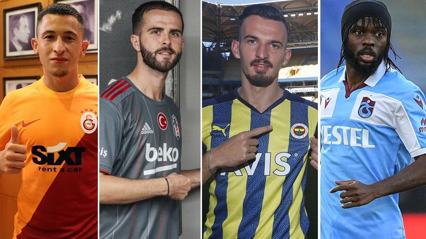 Fenerbahçe, Galatasaray, Beşiktaş ve Trabzonspor'un transfer çılgınlığı! Kâr eden yok…