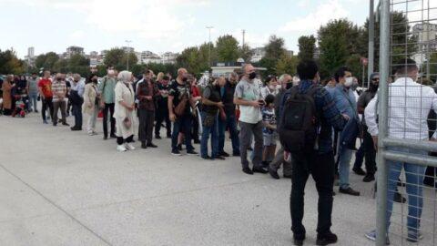 Maltepe'de aşı karşıtı miting düzenlendi