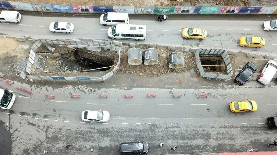 İstanbul'un göbeğinde İSKİ kazısında tarihi keşif