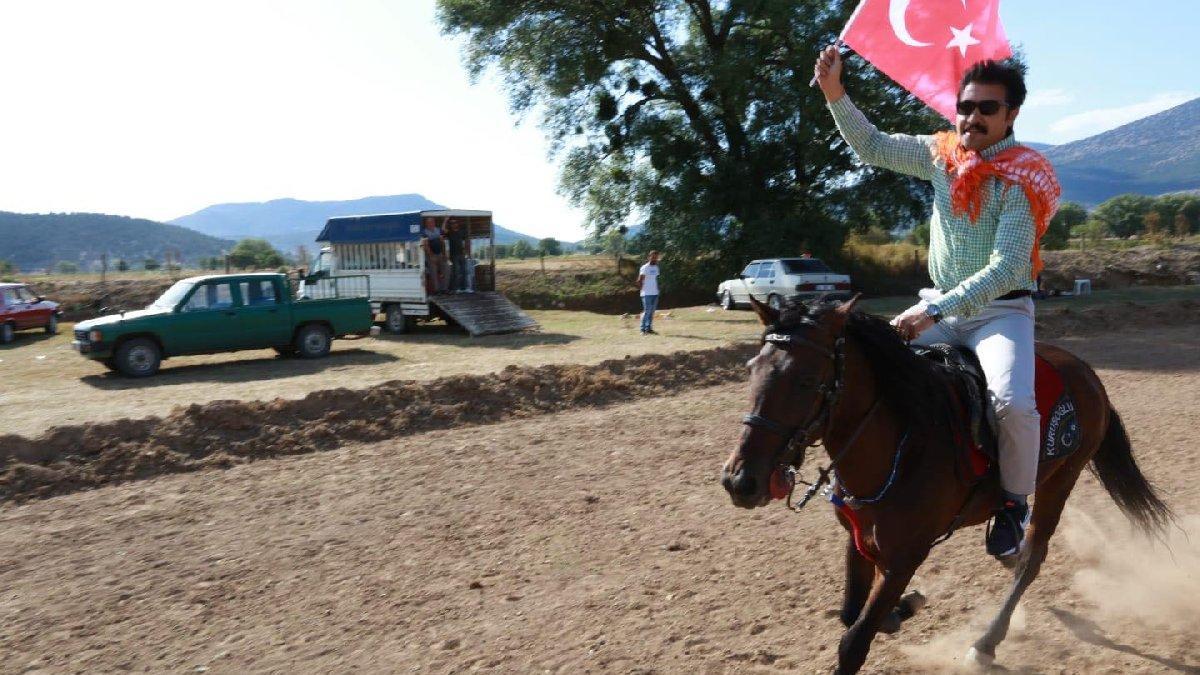 Denizli'de yol tartışması: AKP'li Özkan ata binsin diye özel yol mu yapıldı?