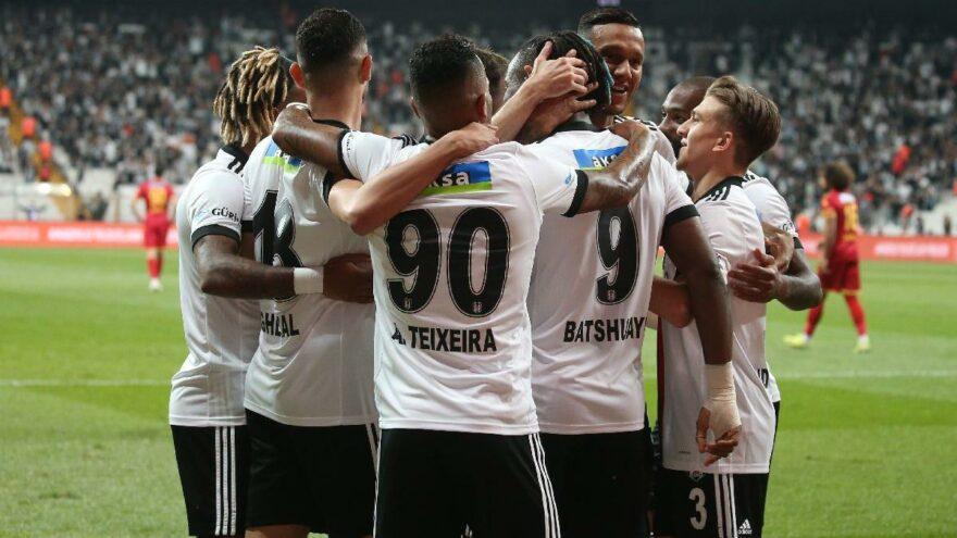 Beşiktaş Yeni Malatyaspor'u yeni transferleri ile geçti