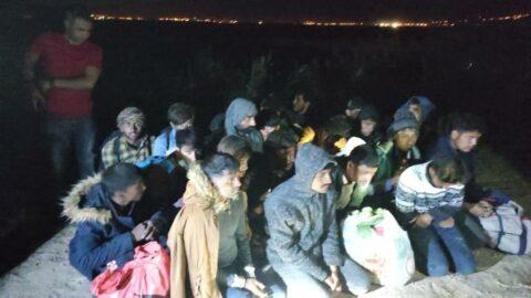 Van'da 57 kaçak göçmen yakalandı