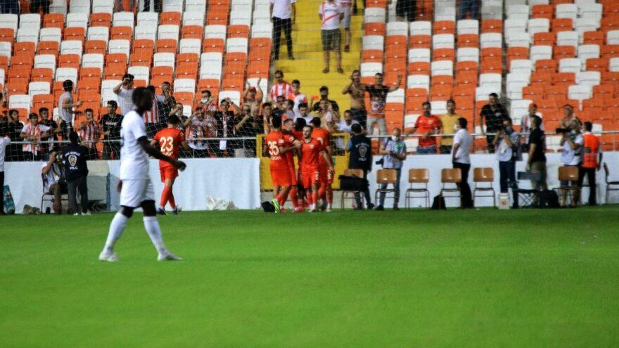 Adanaspor Menemenspor karşısında gol oldu yağdı