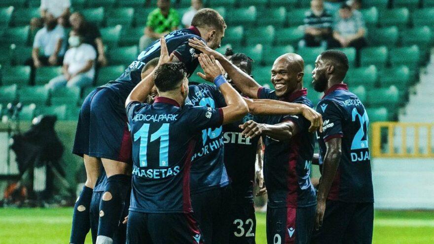 Trabzonspor'un hedefi koltuğu korumak