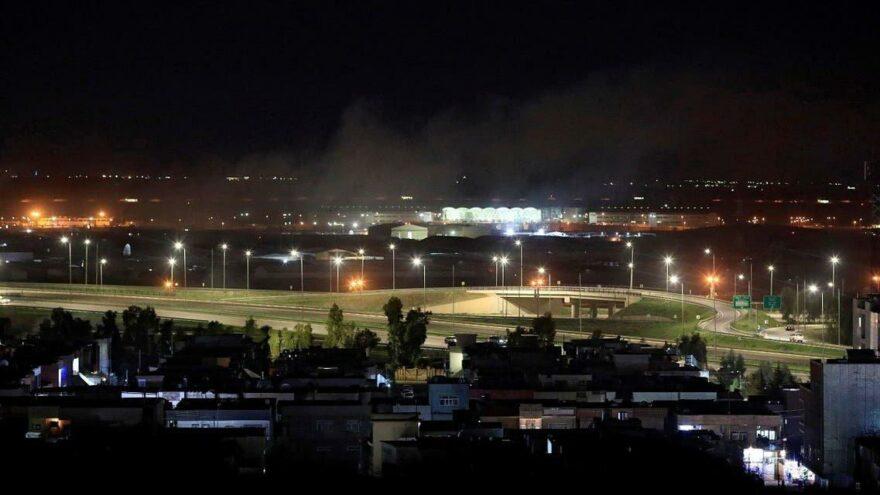Irak'ta ABD askerlerinin bulunduğu bölgeye SİHA saldırısı
